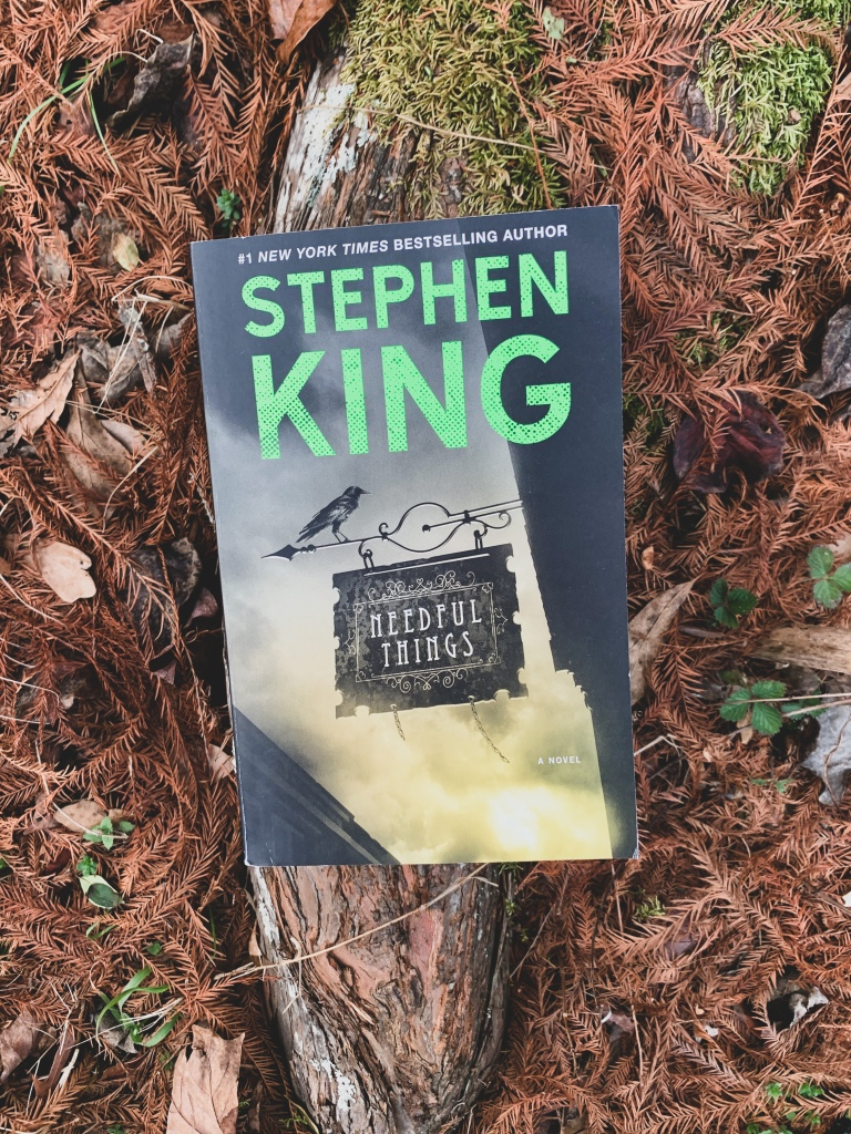 Button to Purchase Needful Things January 2021 TBR